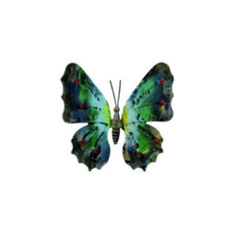 Farfalla in ferro dipinto