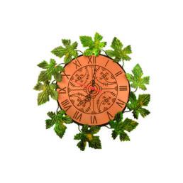 Orologio rame con finiture in ferro